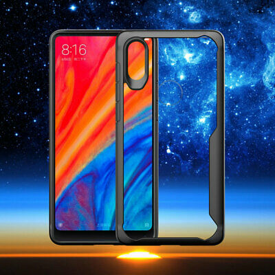 Transparent TPU + PC Acrylic Hard Shockproof Back Case For Goolge pixel 3 2 XL