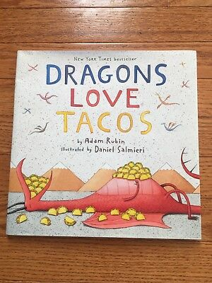 Dragons Love Tacos By Adam Rubin Paperback Childrens Book New