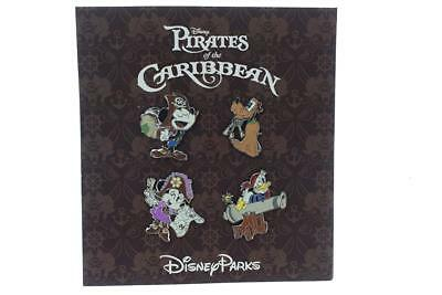 Disney Parks Pirates of the Caribbean Booster Pin Set Trading Pins Pack