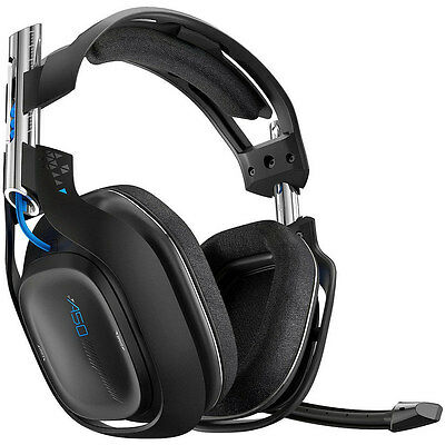 ASTRO Gaming A50 PS4 - Black (2014 Model) Wireless Gaming Headset w/ Mic READ