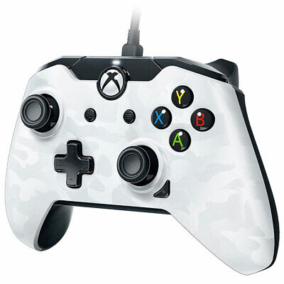 Xbox One Wired Controller WHITE CAMO - Officially Licensed New and Sealed