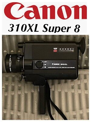 Vintage Canon 310XL Super 8 Video Camera - Battery tested Works Perfectly