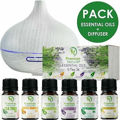 Essential Oils Gift Set Aroma Diffuser Air Humidifier