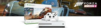 Microsoft Xbox One S 1TB, Forza Horizon 4 Bundle, White - Brand New