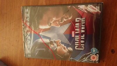 Marvel Civil War Captain America Dvd