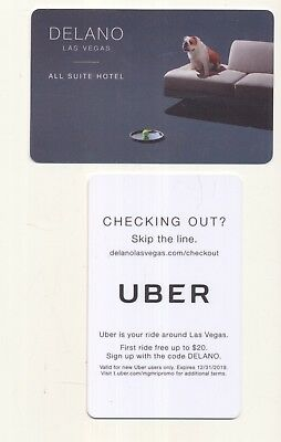 new from--DELANO--All Suites Hotel--Las Vegas,NV---Room key