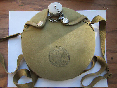 Vintage Boy Scouts of America Aluminum Canteen and cloth Cover