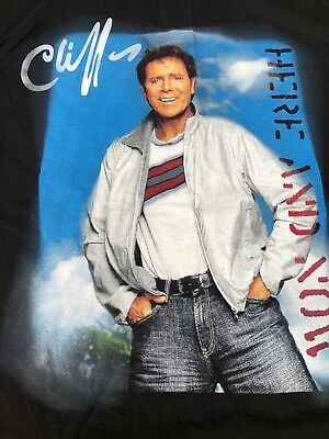 Cliff Richard 2006 Here & Now Tour T -Shirt. (XL-XXL)