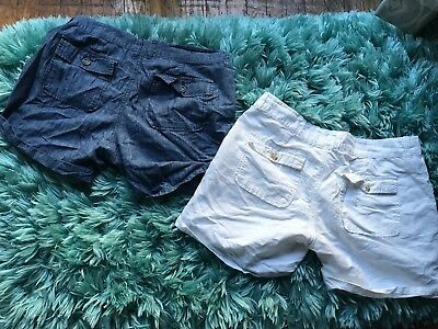 Old Navy Shorts Women's Size 8 (Lot of 2)