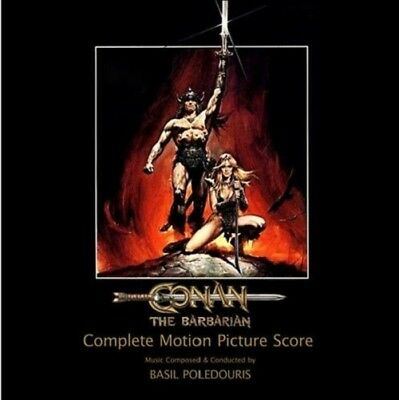 Conan The Barbarian - 2 x CD Complete - Limited 500 - OOP - Basil Poledouris