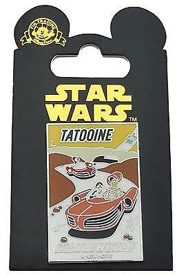 Disney Parks Star Wars Tattooine Poster Trading Pin