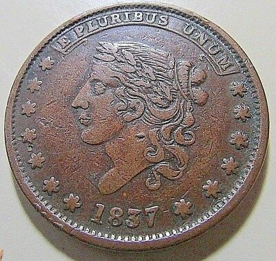 Nice...1837 Hard Times Token (HT65) MAY TENTH-SPECIE PAYMENTS SUSPENDED