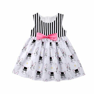 S-727 Black/Pink/White Bunny Dress (Ready to Ship from Ohio) (Free Shipping)