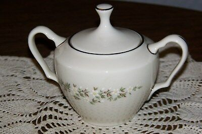 Lenox USA - Brookdale H500 - Full-sized Lidded Sugar Bowl - Superior Condition