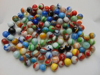 Great Lot Of Vintage Antique Marbles Estate Find 115 Pieces !!LOOK!! Unpicked