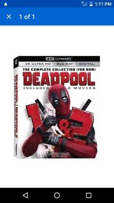Deadpool The Complete Collection For Now Bluray Only( Read Description)