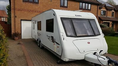 Twin Axle 6 Berth Elddis Crusader 2010