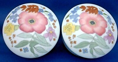 2 Small Wedgwood Trinket Boxes. Susie Cooper.  Decorated With Glen Mist Pattern