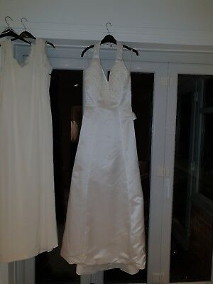 Used wedding dress size 10-12 Mon Cherie