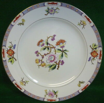"(12) Antique NORITAKE NIPPON 10"" DINNER PLATES MYSTERY #12A - c. 1912 Very Nice!"