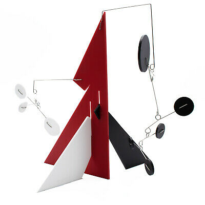 Modern Art Stabile by Atomic Mobiles - Mod Abstract Kinetic Sculpture Statue