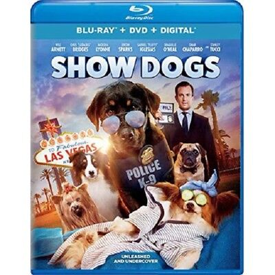 Show Dogs (Blu-ray Disc, 2018)