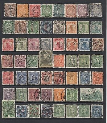 China - 1898 to  1938 collection