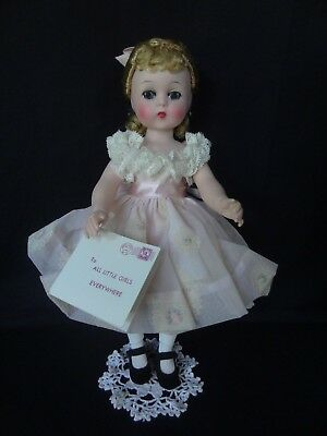 Vintage Madame Alexander Kelly Doll, 11 Inches, Tagged, All Original, EC