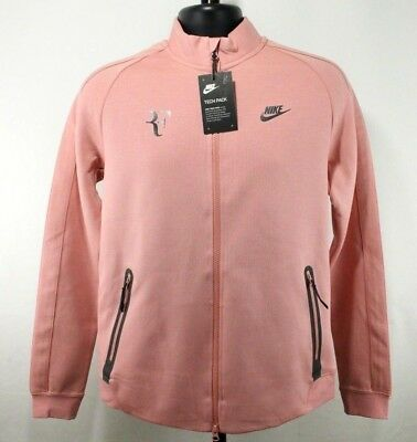 7648c47f4682 Mens Nike Court Tech Pack Jacket 856471-644 Red Stardust R Federer Size  Large M