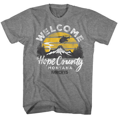 Hope County Far Cry 5 Official Mens T Shirt