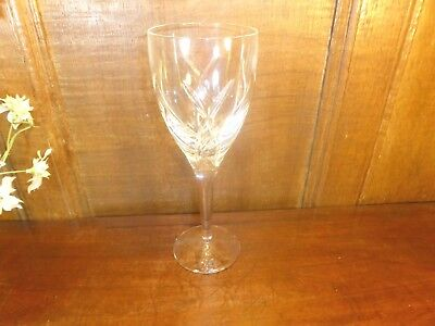 "WONDERFUL Waterford Crystal JOHN ROCHA ""SIGNATURE"" WINE GOBLET/GLASS - 23cms"