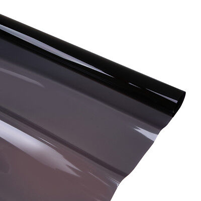 Black Glass Window Tint Shade Film VLT 25% Auto Car House Roll 50cm*6M Sticker