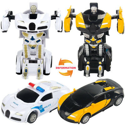 2in1 Transformer Anime Children's toy Robot car Truck Christmas Gift