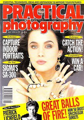 Practical  Photography Magazine with Sigma SA-300 camera  tested  May  1993