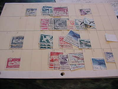 France, Italy, Switzerland Airmail Accumulations ($450 + Catalog Value)