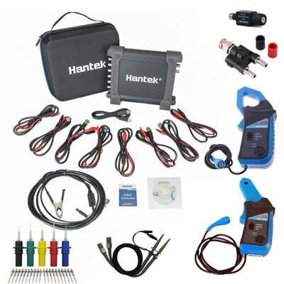 Hantak 1008C 8CH USB PC Oscilloscope +( 650A 400Hz )/( 65A 20KHz ) current clamp