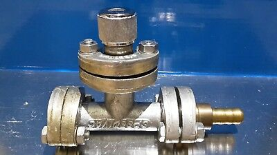 Speedivac Vacuum Pump T Pipe/pressure Release Valve And Connector/clamps & Seals