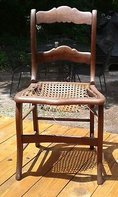 Antique Early 19th century Solid American Walnut Side Chair