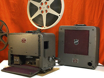BELL & HOWELL 179 16mm SOUND PROJECTOR & SPEAKER  excellent condition