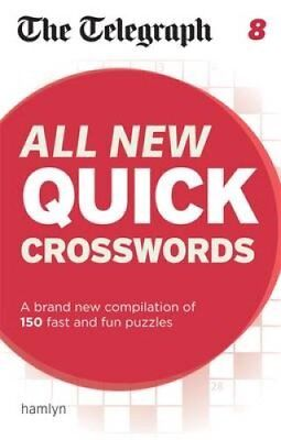 The Telegraph: All New Quick Crosswords 8 by Telegraph Media Group 9780600631118
