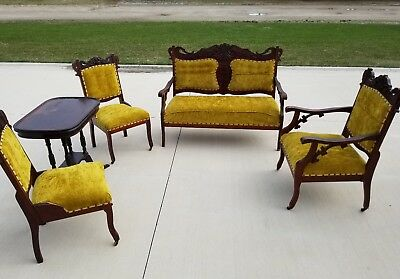 Early Victorian Parlor Furniture Set