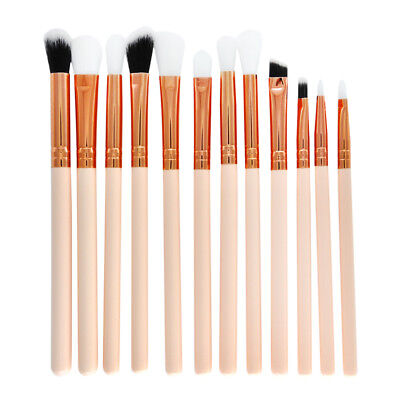 12x Pro Makeup Brushes Set Cosmetics Power Eyeliner Foundation Blush Tools