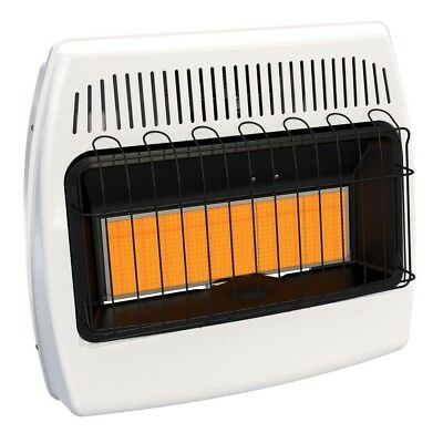 Dyna-Glo 30,000 BTU Natural Gas Infrared Natural Gas Wall Heater Surface Mounted