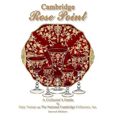 Book - Cambridge Rose Point - A Collector's Guide by Gary Turner & NCC