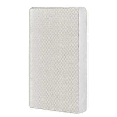 """Dream On Me, 2-in-1 Breathable Two-Sided 3""""Mini/Portable Crib Mattress, White"""
