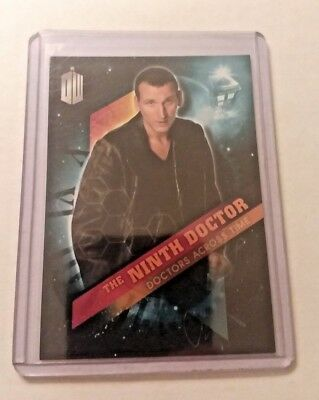 2016 Topps Doctor Who Timeless #9 Doctor Across Time - The Ninth Doctor