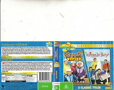 The Wiggles-Cold Spaghetti Western-2004/Wiggle Bay-2005-Animated TW-DVD