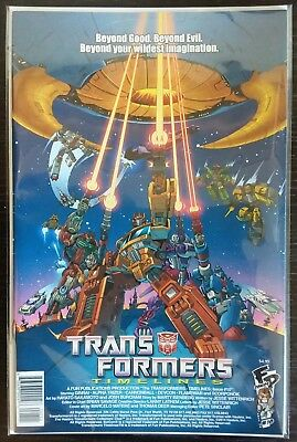 Transformers Timelines #10 DIAMOND EDITION Comic BOTCON 2014 Fun Pub Exclusive