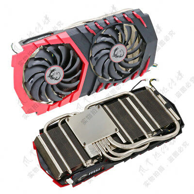 Msi GTX1080 GAMING Radiator Cooling Fan Assembly compatible GTX1070/1060 GAMING