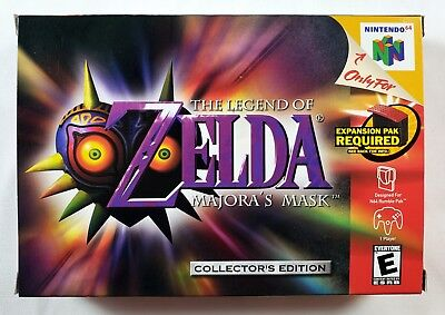 Complete Legend Of Zelda: Majora's Mask (Collector Edition) For US Nintendo 64